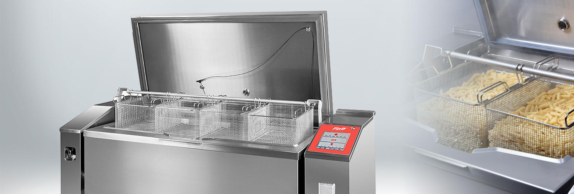 gastromické elektrické multifunkční zařízení na vaření a přípravu pokrmů